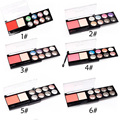 Eight-color Double Combination Caused Mounted Diamond Soft and Lovely Blush Eyeshadow