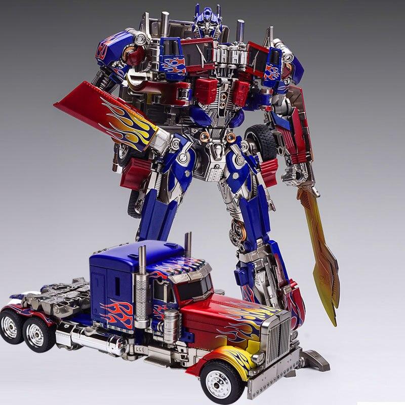 Transformation jouets déformation Robot SS05 métal partie Robots voiture modèles Collections garçon cadeaux d'anniversaire WJ 8093