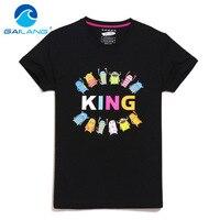 Gailang Brand Design printed t-shirt hombres de verano de manga corta Camiseta Tops más tamaño XXXL camisetas algodón o Masajeadores de cuello camiseta casual