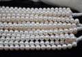 wholesale 5 X  strands 9.5-10mm cultured  freshwater pearl