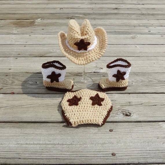 Новорожденный ребенок ковбойская шляпа сапоги фотография опора экипировка пеленки комплект подарок душа 0 - 3 месяцев