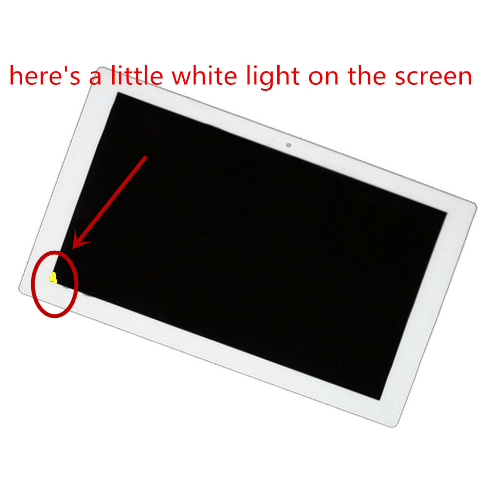 A little light leak 100 Tested Original LCD DIsplay Touch Screen Digitizer Assembly For SNOY Xperia