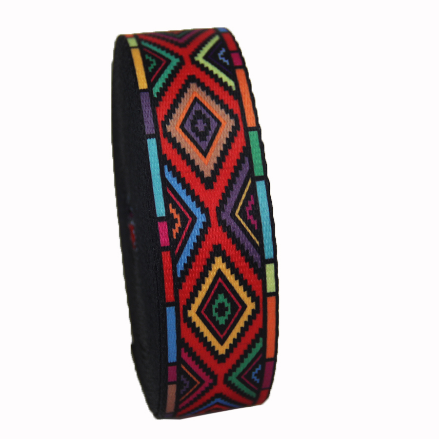 New design fashion type hot sale 1.5 inch 38mm high quality polyester webbing with printing colorful printing design-in Webbing from Home & Garden    2