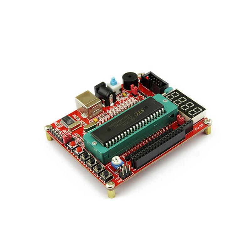 100% QualitäT Freies Schiff 2 Teile/los 51/avr Entwicklungsboard Einschließlich Chip Mikrocomputer Usb-kabel Mcu Mindestsystemplatine