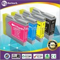 Free Shipping,6 PK High Quality Compatible Ink Cartridge for B-LC10/37/51/57/960/970/1000 ,Used For 560CN,750CN,750CW