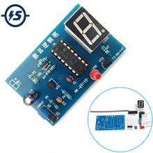 Elektronische DIY Kit IC Tester CD4511BE Digitale LED-Tester Meter Logic Stift Kit für Sensor Verstärker DC Gain