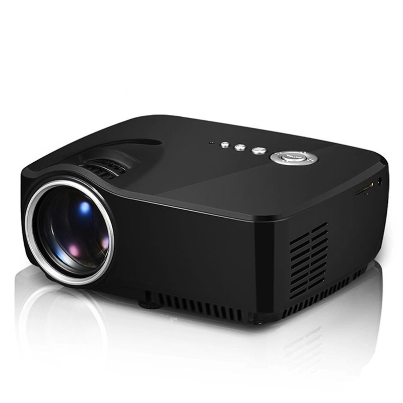 1200Lumen GP70 Brand new Mini Projector Portable Proyector LED Beamer Home Theatre 3D Movie Game Video TV With HDMI VGA USB AM01 new arrival low cost mini led projector portable led lamp beamer with hdmi usb sd vga compatible for dvd computer for home game