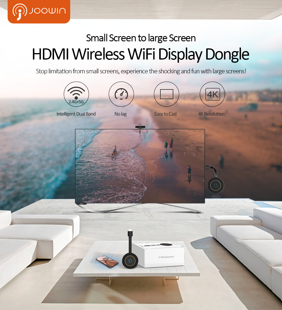 4K HD 5,8 Ghz TV Stick Wireless Dongle Tv Stick Anycast Unterstützung HDMI Miracast Airplay für Android iOS Mirroring zu HDTV Projektor