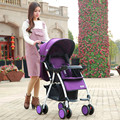 Portátil estupendo coche paraguas cochecito suspensión puede sentarse puede mentir plegable paisaje alta invierno del verano del bebé del carro de bebé