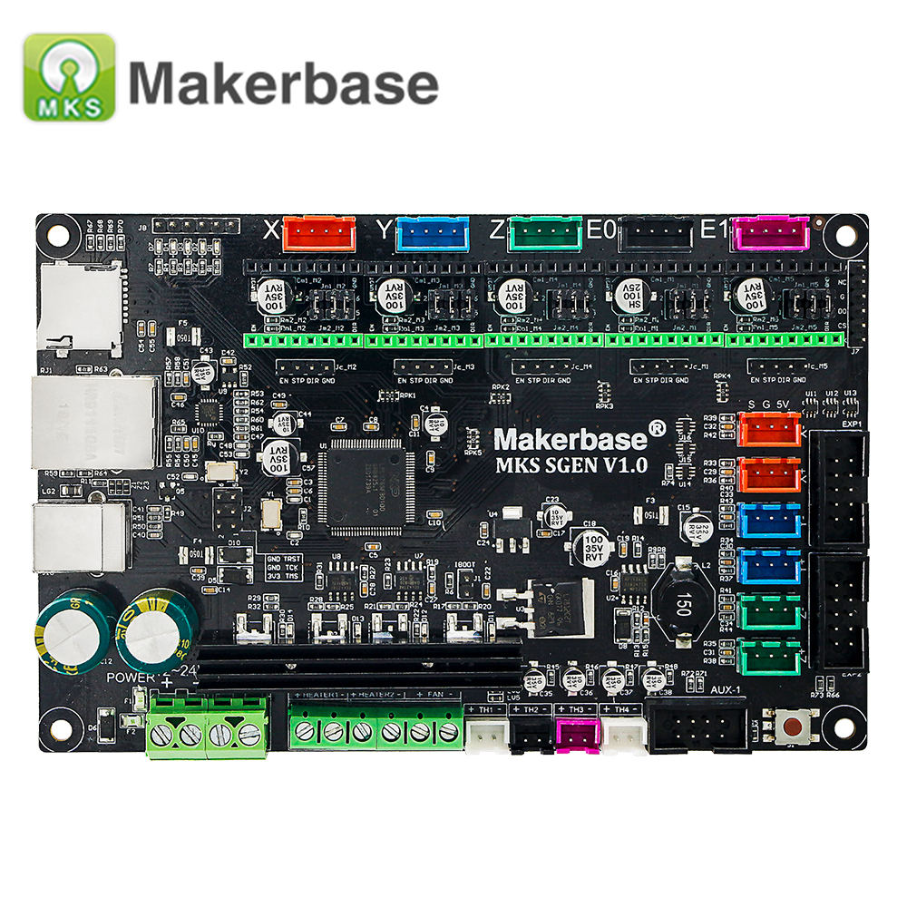 3D Printer Parts Controller Board MKS Sgen Smoothieboard 32Bit Open Source Runs Smoothieware mks sbase upgraded