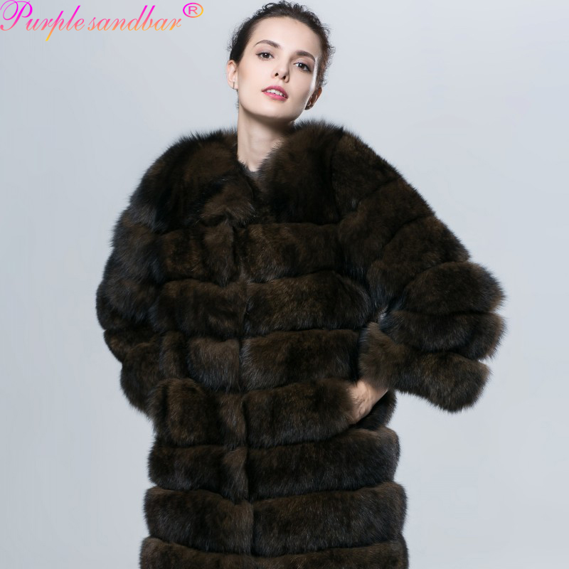 Online Buy Wholesale real fox fur coat from China real fox fur ...