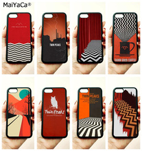 TV series twin peaks soft TPU edge mobile phone cases for apple iPhone x 5s SE 6 6s plus 7 7plus 8 8plus XR XS MAX case