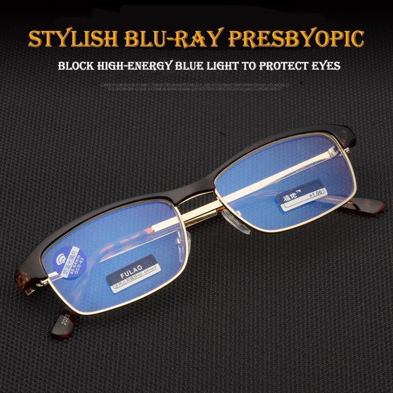 New reading glasses UV400 Anti-Blu-ray radiation glass Women's Men's Fashion Eyewear +1.0 1.5 2.0 2.5 3.0 3.5 4.0