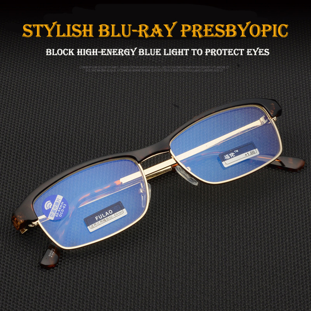 New reading glasses UV400 Anti-Blu-ray radiation glass Women's Men's Fashion Eyewear +1.0 1.5 2.0 2.5 3.0 3.5 4.0