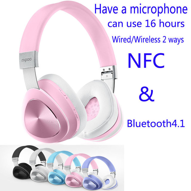 Wired Or Wireless Headset | 100 Genuine Rapoo S700 Bluetooth Headset Mobile Nfc Bluetooth 4 1