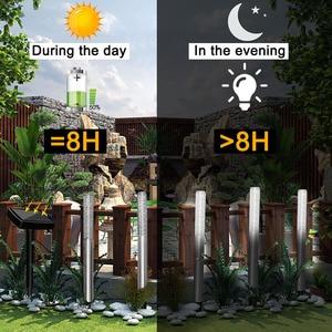 Image 4 - 5 adet Kabarcık güneş enerjisiborusu Bahis Işıkları bahçe sopası Işık Açık Akrilik Güneş Enerjili Lamba Bahçe Veranda Köy Yolu