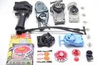 Metal Fight BeyBlade BB-55 Booster Dark Cancer CH120SF Beyblade Power String Launcher & Grip Set