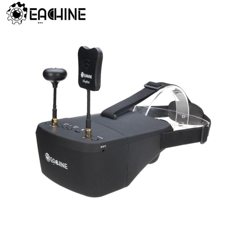 Eachine EV800D 5.8G 40CH 5 pouces 800*480 casque vidéo HD DVR diversité FPV lunettes avec batterie pour RC modèle RC Drone pièces