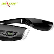 Orignal zealot h1 estéreo deporte auricular bluetooth auriculares inalámbricos auriculares manos libres auricular luminosa para el teléfono con micrófono