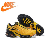 df710bce Original Authentic Nike Air Max Plus Mens Running Shoes Outdoor Sneakers  Breathable Shockproof Athletic Designer Footwear