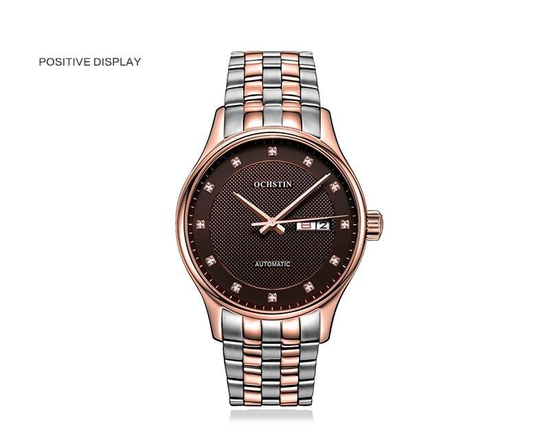 Mecânico Automático do Relógio Dos Homens Clássicos Relógios Das Mulheres