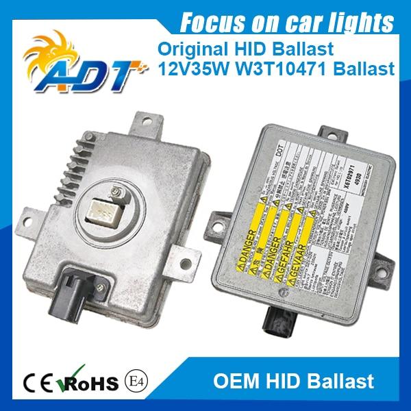 D2 Xenon HID Headlights Igniter W3T10471 Inverter Control Ballasts 2004-2005 For Acura TSX (33119-SCC-003) new hid xenon d2s oem 33119 ta0 003 ballast for mitsubishi w3t19371 for rdx tl tsx 2006 2011