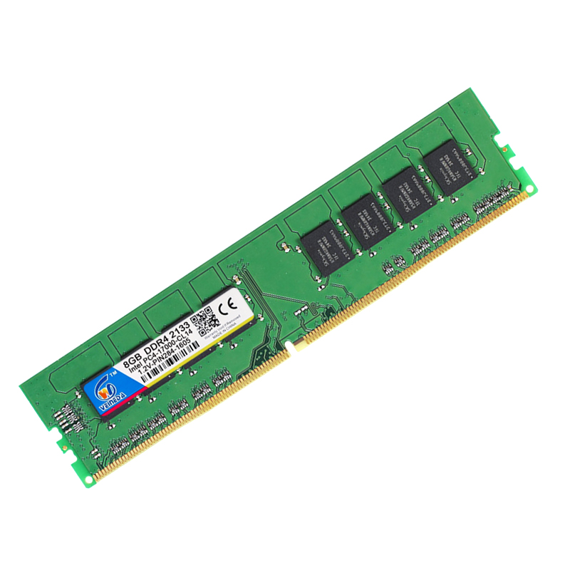 VEINEDA Ram DDR4 8 gb PC4-19200 Mémoire Ram ddr 4 2400 Pour Intel AMD DeskPC Mobo ddr4 8 gb 284pin marque Dimm - 5