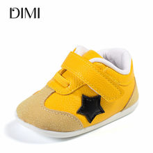 Baby Shoes Genuine Leather First Walker Moccasins Baby Boy Girl Toddler Shoes Newborn Infant Shoe Anti-slip Soft Kids Baby Shoes(China)
