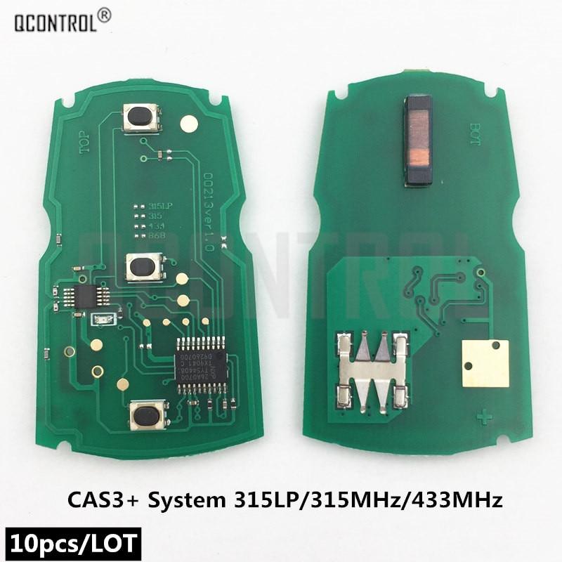 Carte électronique de clé de télécommande de voiture de QCONTROL pour l'émetteur sans clé d'entrée de la série X5 X6 Z4 1/3/5/7 de système de BMW CAS3
