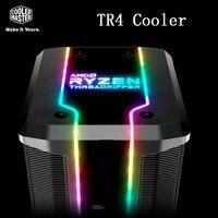 Cooler Master New top grade 7 Copper Heatpipe CPU Cooler 12cm Quiet ARGB 4pin Fan For AMD TR4/SP3 CPU Radiator PC Cooling Fan