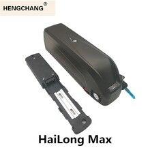Hailong max rower obudowa baterii bez uchwyt rowerowy rower baterii pudełko diy z USB może pomieścić 80 sztuk 18650 36v 48v 52v obudowa z tworzywa sztucznego