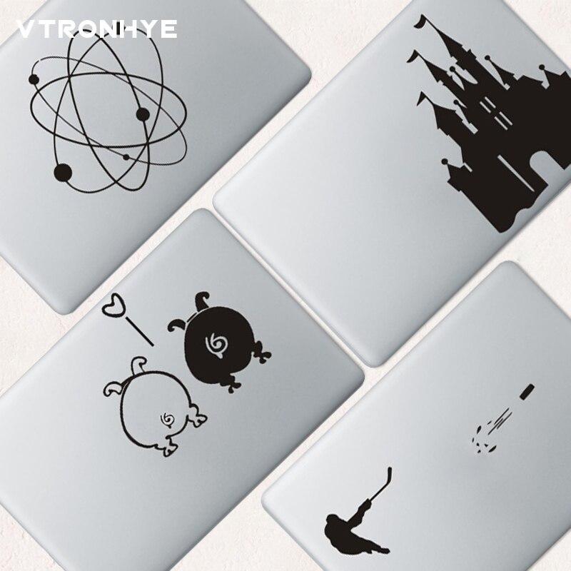 Cute animal Laptop Partial Sticker for font b Apple b font font b Macbook b font