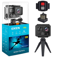 EKEN H6s Action Camera 4K 30fps Video WIFI 14MP Ultra HD with A12 Chip 30M Waterproof Go Mini Cam Travel Pro Sport Camera