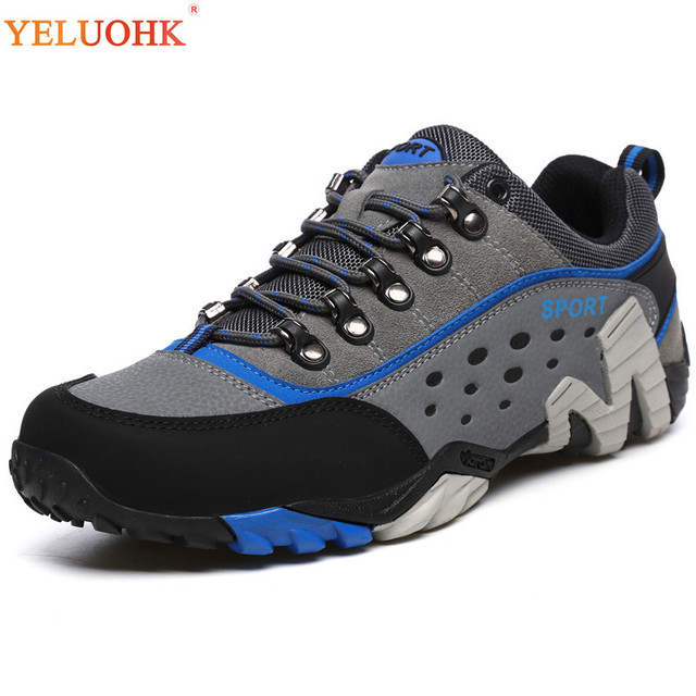 39-45 Winter Shoes Men Breathable 2018 New Men Boots Cotton Lining Winter Boots Men Anti skidding