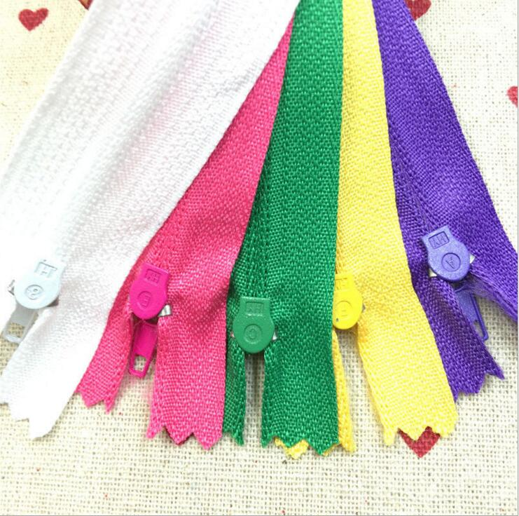 5pcs 15/20/25/30CM 3# Closed Nylon Coil Zippers Tailor Sewing Craft (Color U PICK)|coil zipper|nylon coil zipperszipper craft - AliExpress