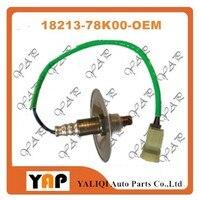 可燃性ガス警報酸素センサー用fitsuzuki grand vitara 2.4l l4フロント4ワイヤー18213-78k00 234-9299 2009-2015