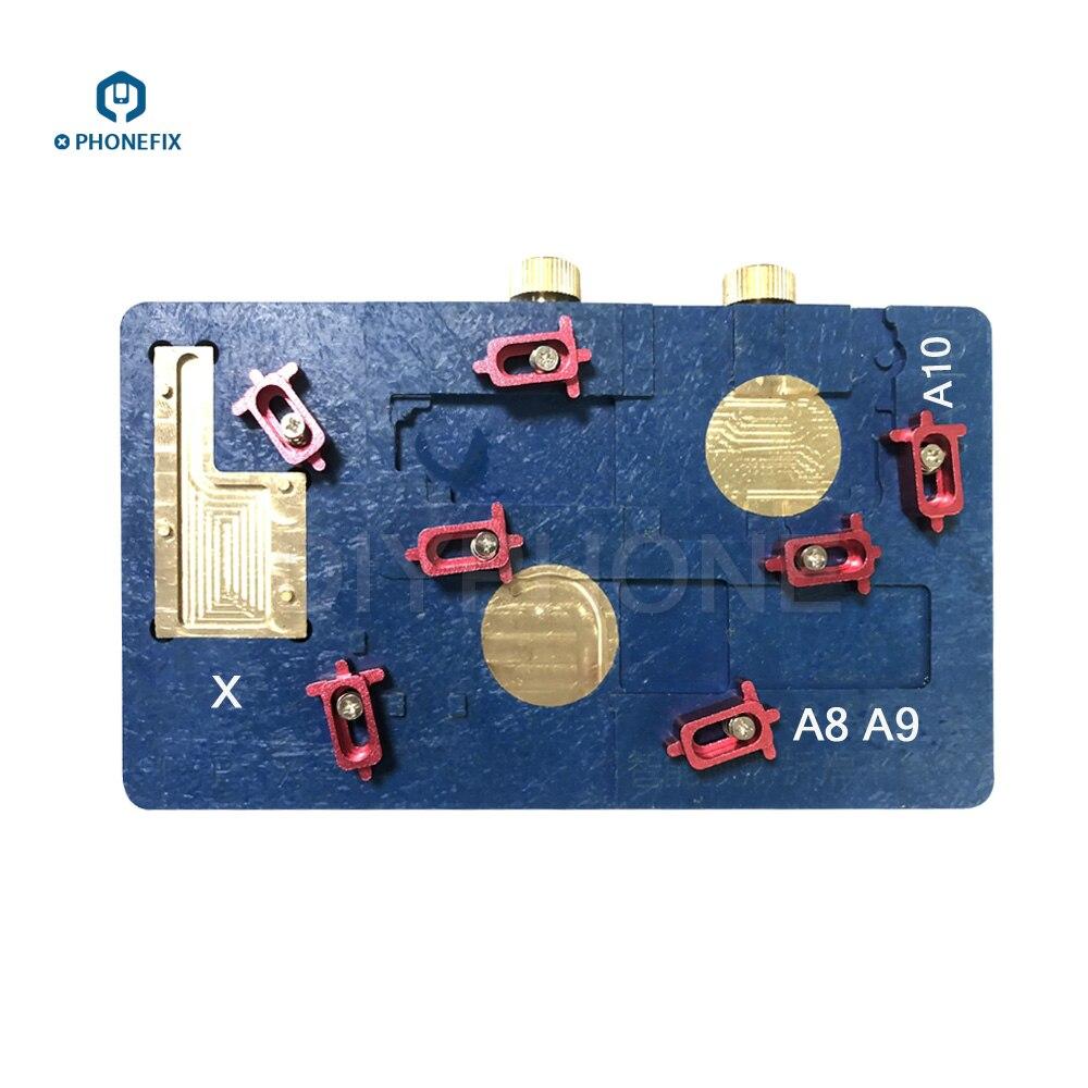 PHONEFIX Nouveau MÉCANO C9 Soudage Plate-Forme de Chauffage Carte Mère CPU NAND Flash IC Puce Décapant Pour iPhone 6 7 8 X outil de réparation