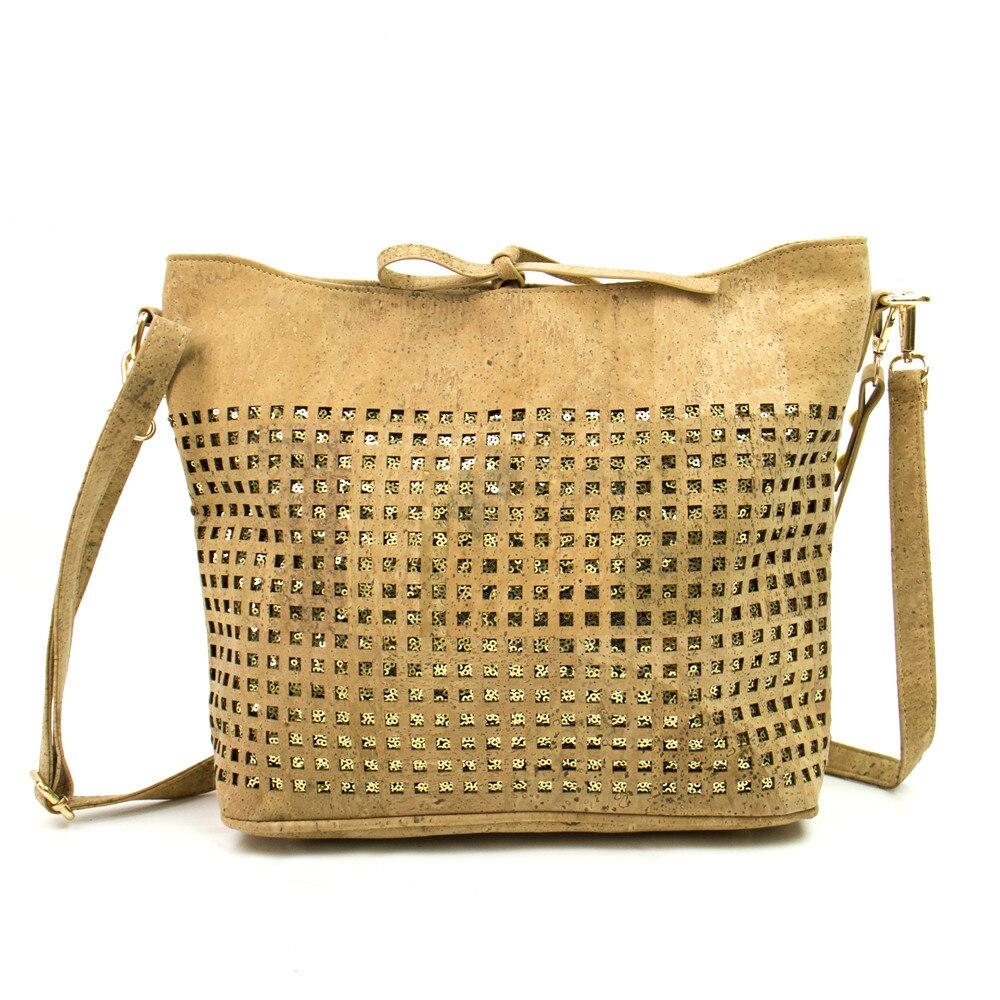 Cork Handbags: Aliexpress.com : Buy Natural Cork Fabric Bags Women Cork