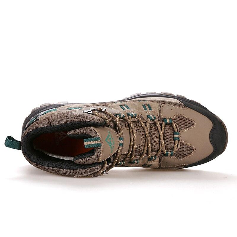 Мужская и женская альпинистская обувь; Короткие Водонепроницаемые ботинки с амортизацией и износостойкостью; зимняя теплая Уличная обувь - 3