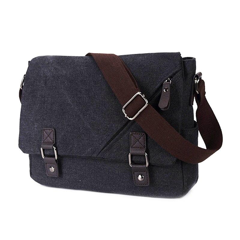 Bags For men 2018 Crossbody Bags Canvas Small Satchels Vintage Shoulder Bags Handbags men Famous Brands Cover