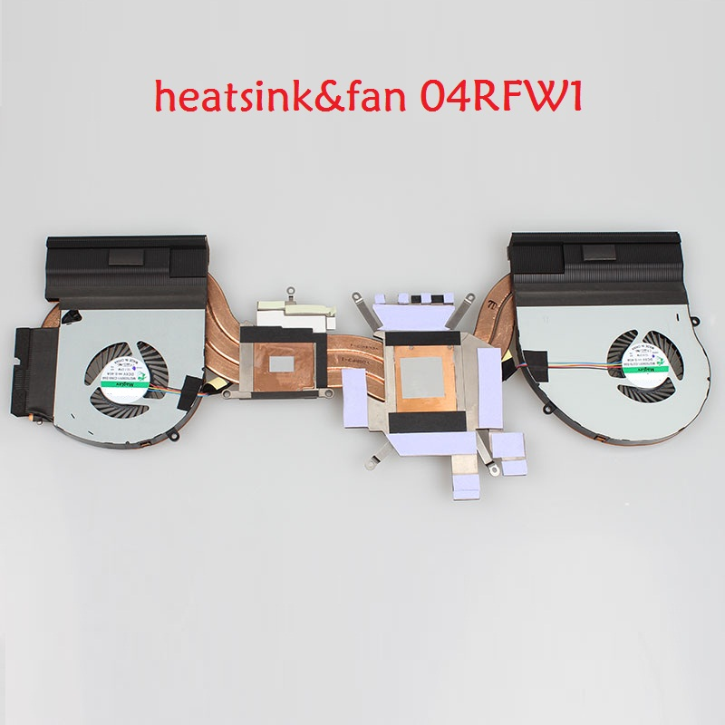 все цены на Laptop Heatsink&Fan for DELL for Alienware 17 R4 MG75090V1-C070-S9A MG75090V1-C060-S9A AT1QB001ZC0 0K2PKV 04RFW1 02FR98 0TGV49 онлайн