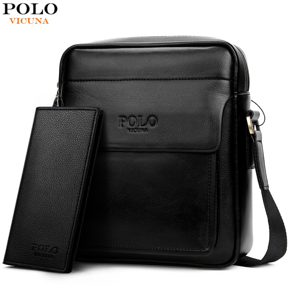 7f5c0b5bc3d1 VICUNA POLO Famous Brand Square High Capacity Business Men Messenger Bags  Italy Design Leather Man Bag sacoche homme sac a main on Aliexpress.com