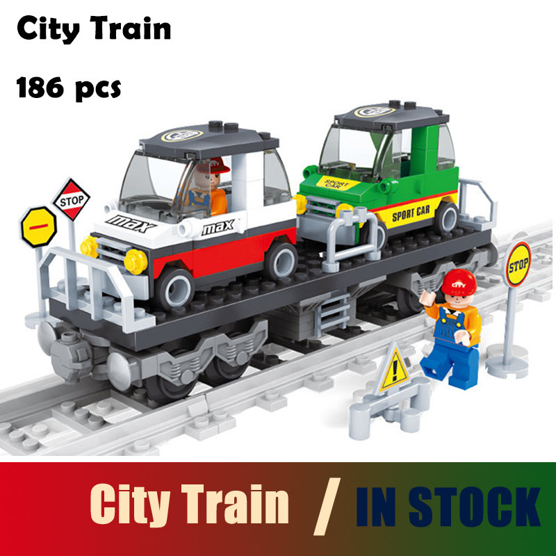 Compatible with Lego city Ausini building blocks set train 400 3D Brick Educational model & building toys hobbies for children ausini building block set compatible with lego transportation train 003 3d construction brick educational hobbies toys for kids