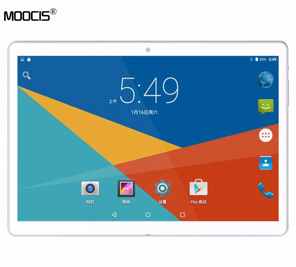 MOOCIS 2017New 10 1 inch android tablet pc1920 1200 Original Design 4G LTE Phone Call Android