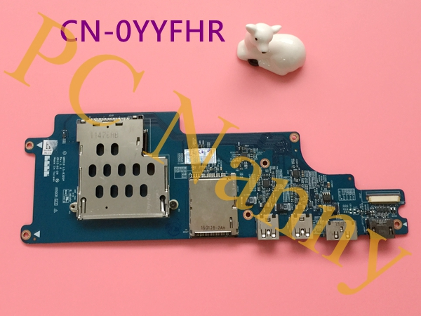 ФОТО for DELL Alienware M18X R2 USB SD CARD Reader board YYFHR 0YYFHR QBR10 LS-832DP tested