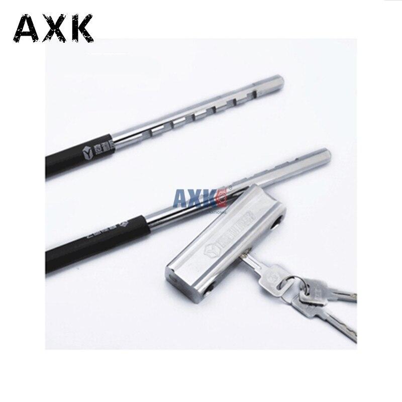 YL-5053 vélo manille support de montage câble flexible u-lock anti-hydraulique cisaillement anti-vol longue serrure magasin serrure plus long besoin serrure à clé