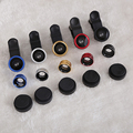 HOT SELL Universal Clip 3 in 1 Fish Eye Wide Angle Macro Fisheye Mobile Phone Lens For iPhone 6 5 5S Samsung HTC GN Nokia LG