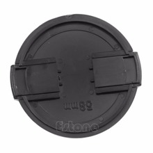 1Pc 5X 58mm Front Lens Cap Hood Cover Snap-on For DC SLR DSLR camera DV Canon  10166 58mm foldable lens hood