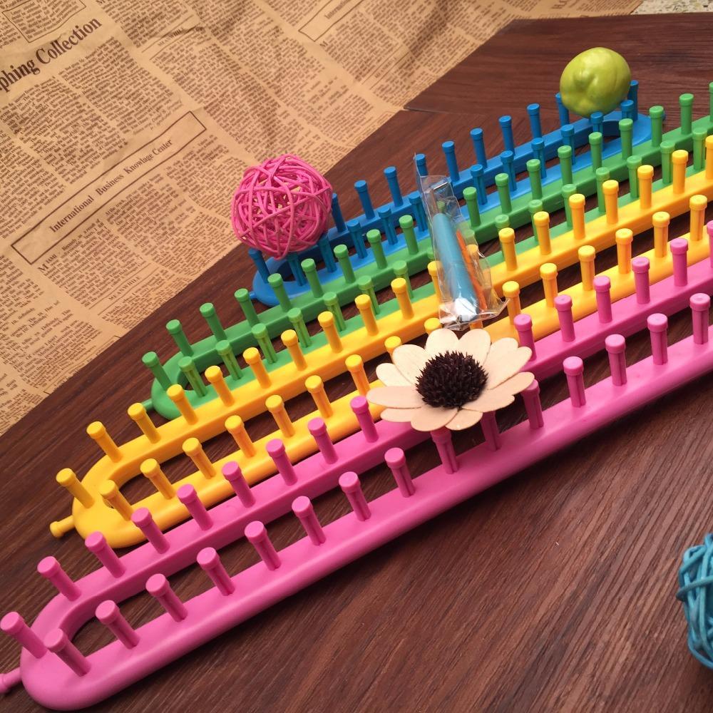 Nemokamas pristatymas 4 spalvų kvadratiniai mezgimo staklės 4 - Menai, amatai ir siuvimas - Nuotrauka 5