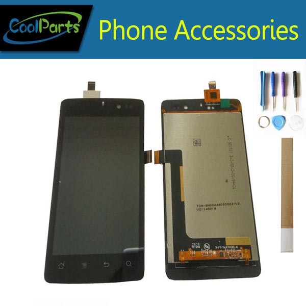 1PC/Lot High Quality For Highscreen Omega Q LCD Display Screen And Touch Screen Digitizer Assembly Black Color With Tape&Tool 1PC/Lot High Quality For Highscreen Omega Q LCD Display Screen And Touch Screen Digitizer Assembly Black Color With Tape&Tool